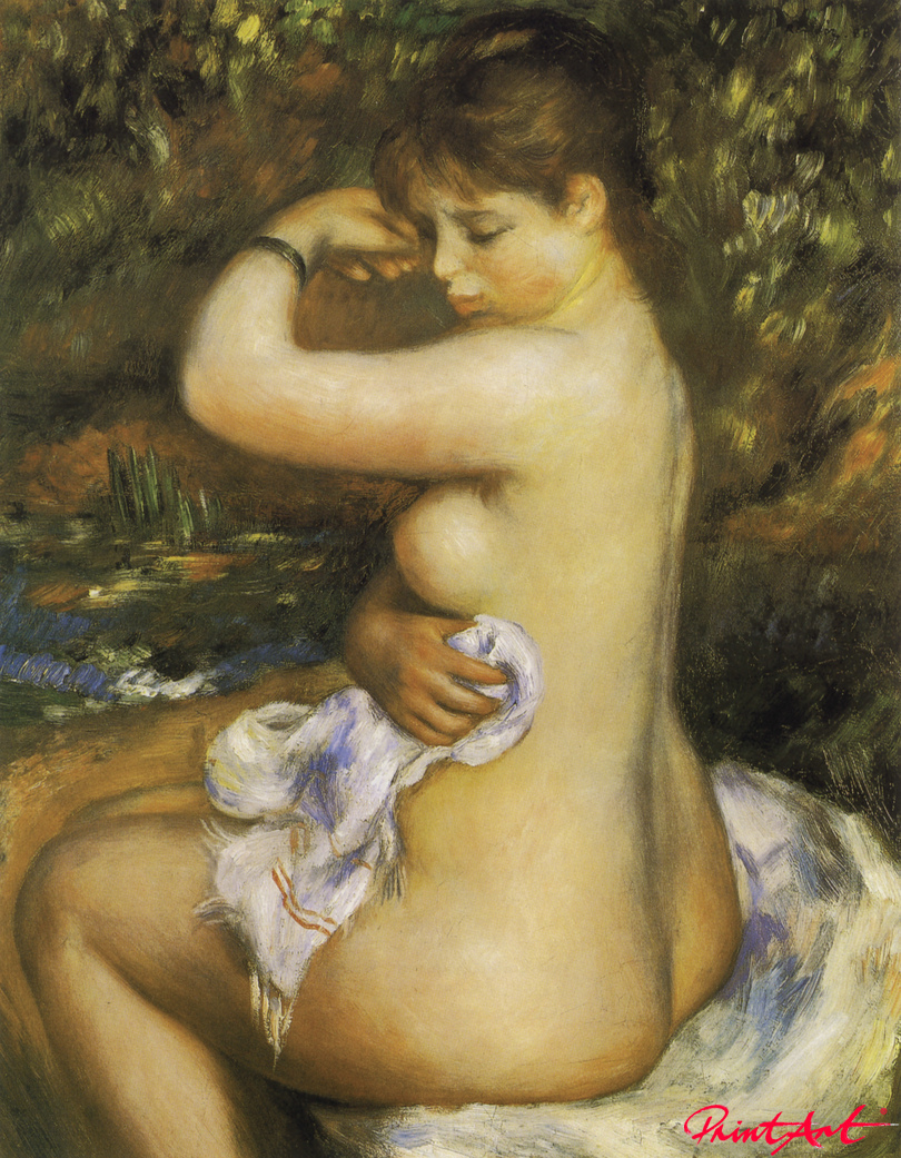 Nach dem Bad Renoir Pierre Auguste