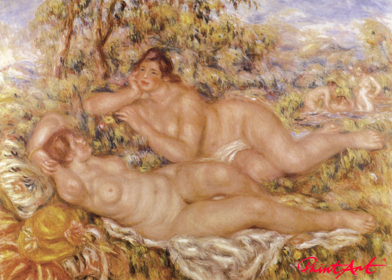 Ruhe nach dem Bad Renoir Pierre Auguste