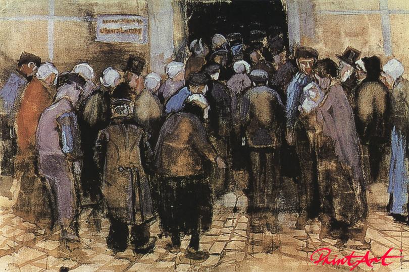 Die Staatslotterie Van Gogh Vincent