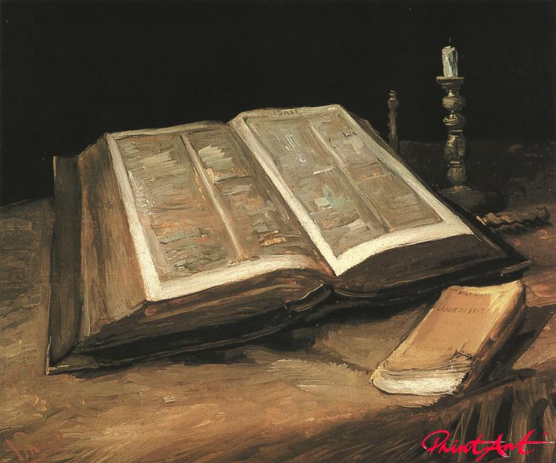Stilleben mit Bibel Van Gogh Vincent