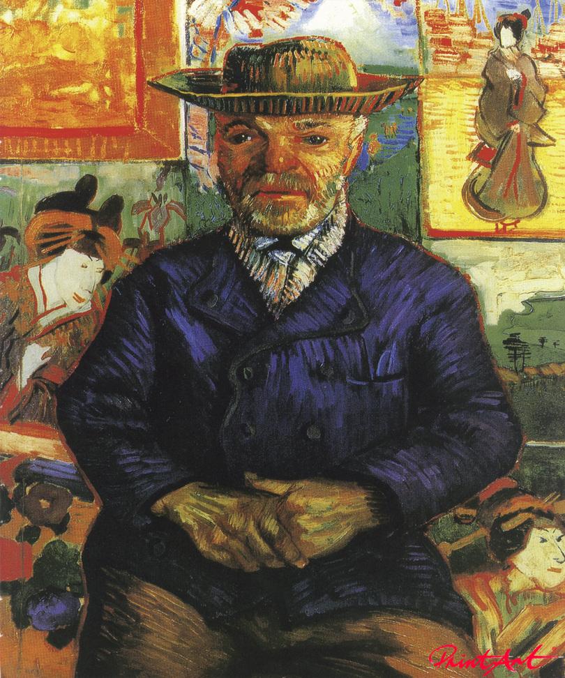 "Bildnis des Farbenhändlers ""Père"" Tanguy Van Gogh Vincent"