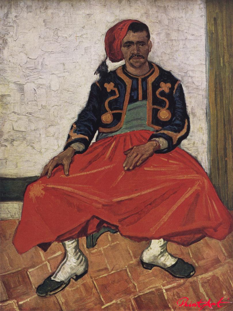 Der Zuave Milliet Van Gogh Vincent