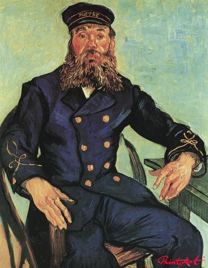 Der Landbote Joseph Roulin Van Gogh Vincent