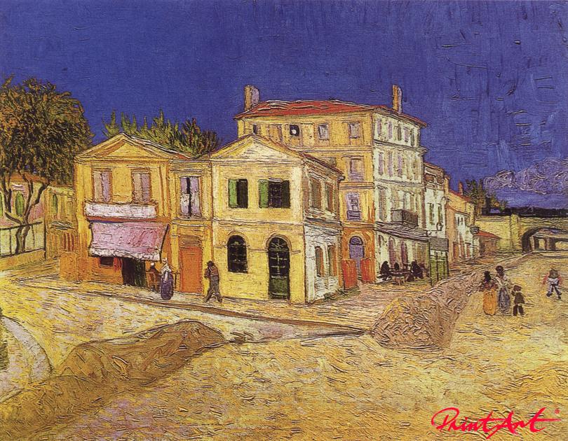 Das gelbe Haus Van Gogh Vincent