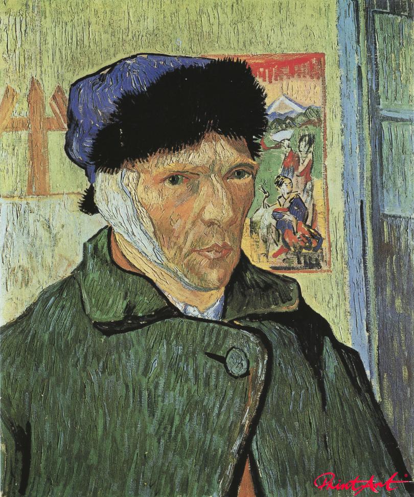 Selbstbildnis mit verbundenem Ohr Van Gogh Vincent