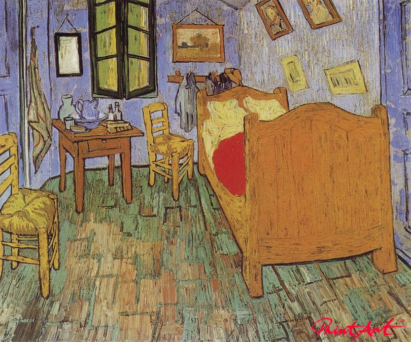 Van Goghs Schlafzimmer in Arles Van Gogh Vincent