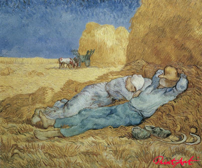 Mittagsrast Van Gogh Vincent