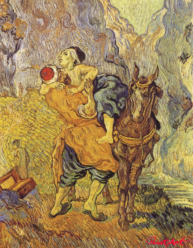 Der barmherzige Samariter Van Gogh Vincent