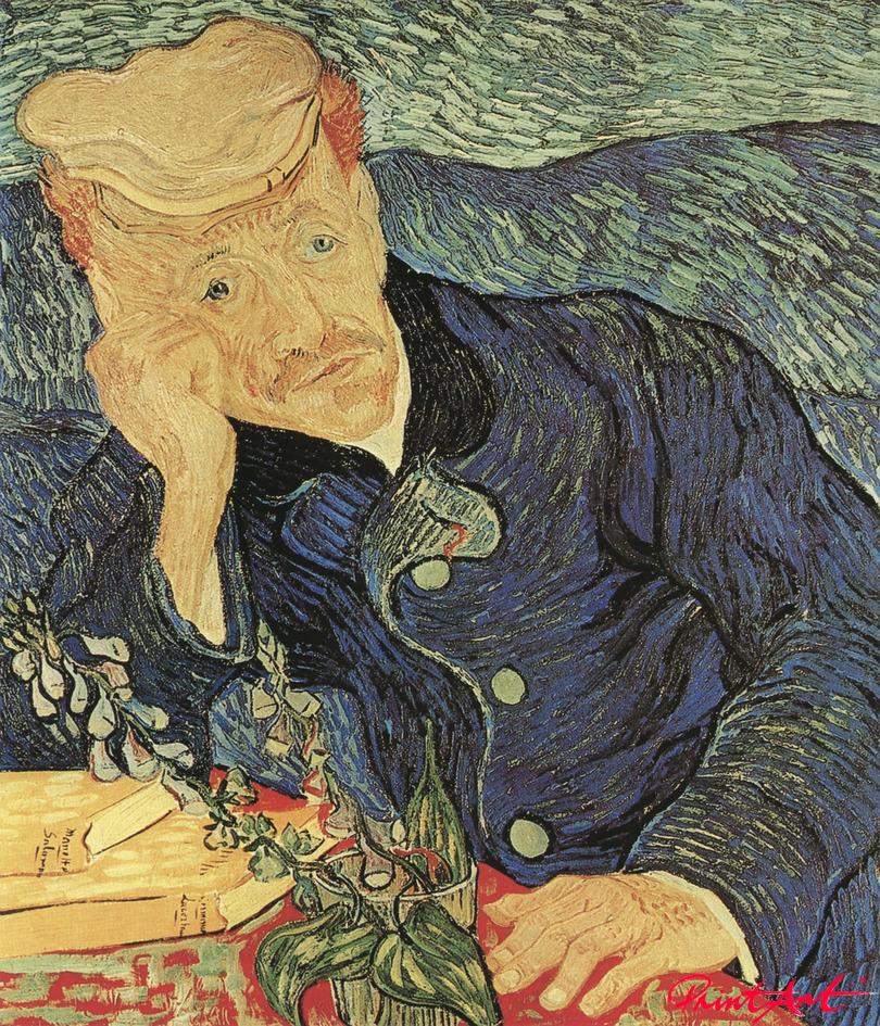 Bildnis Dr. Gachet Van Gogh Vincent