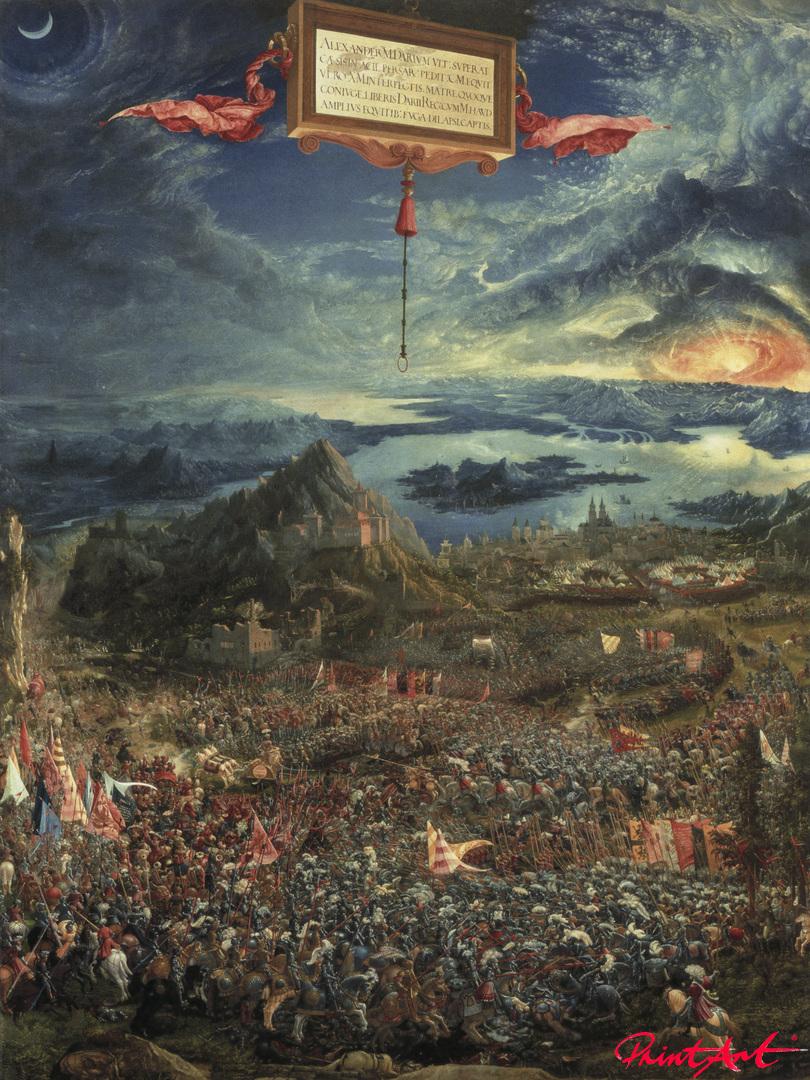 Alexanderschlacht (Schlacht bei Issus) Altdorfer Albrecht