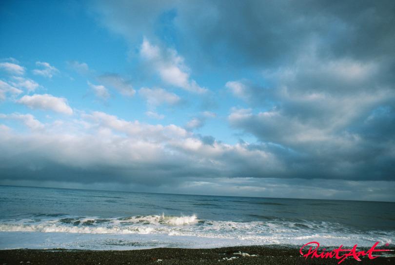 blauer Horizont Strände