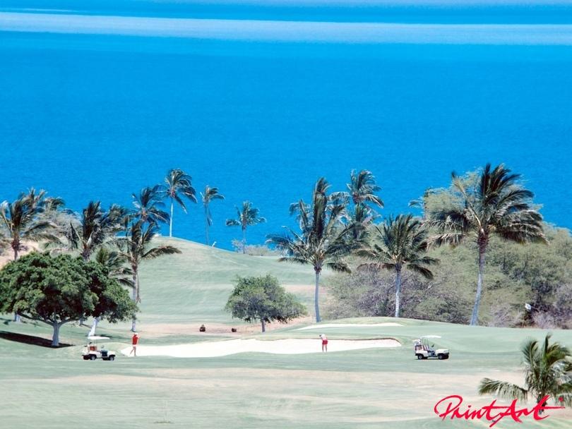 Golfplatz Strände