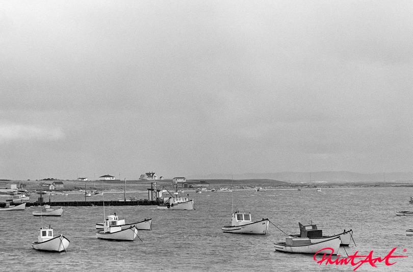 Fischerboote auf dem Meer Strände