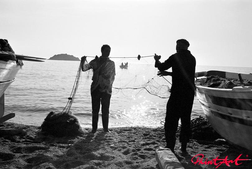 Mit Fischern Strände