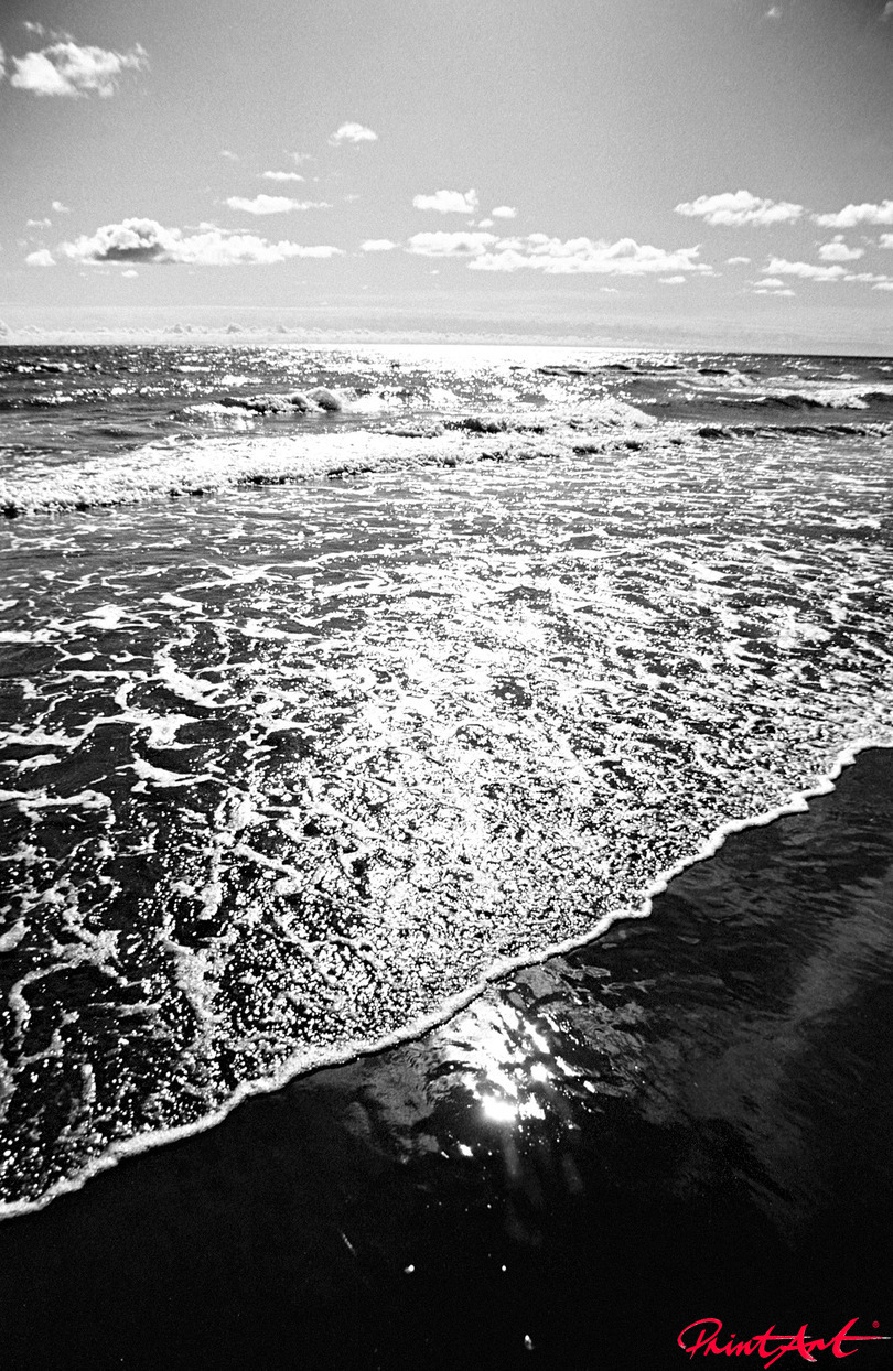 Schäumende Wellen Strände