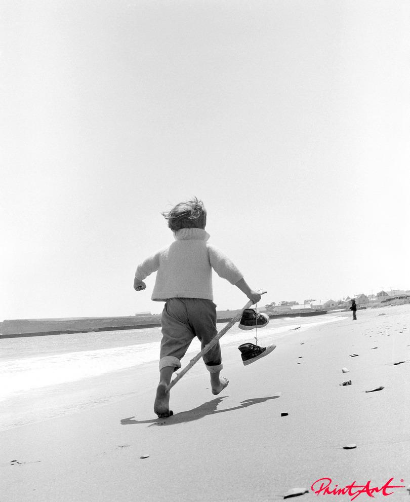 Spazierendes Kind Strände
