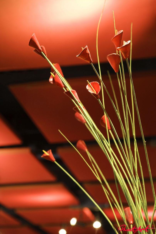 exotisches Gebinde Blumen
