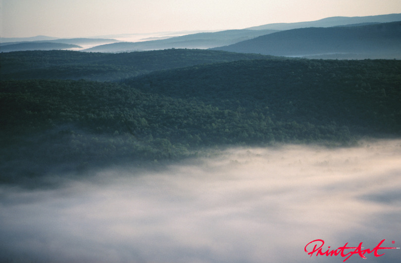 Nebeltal Berge