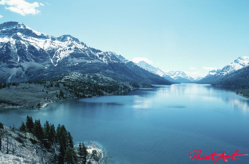 kanadische Berge Berge