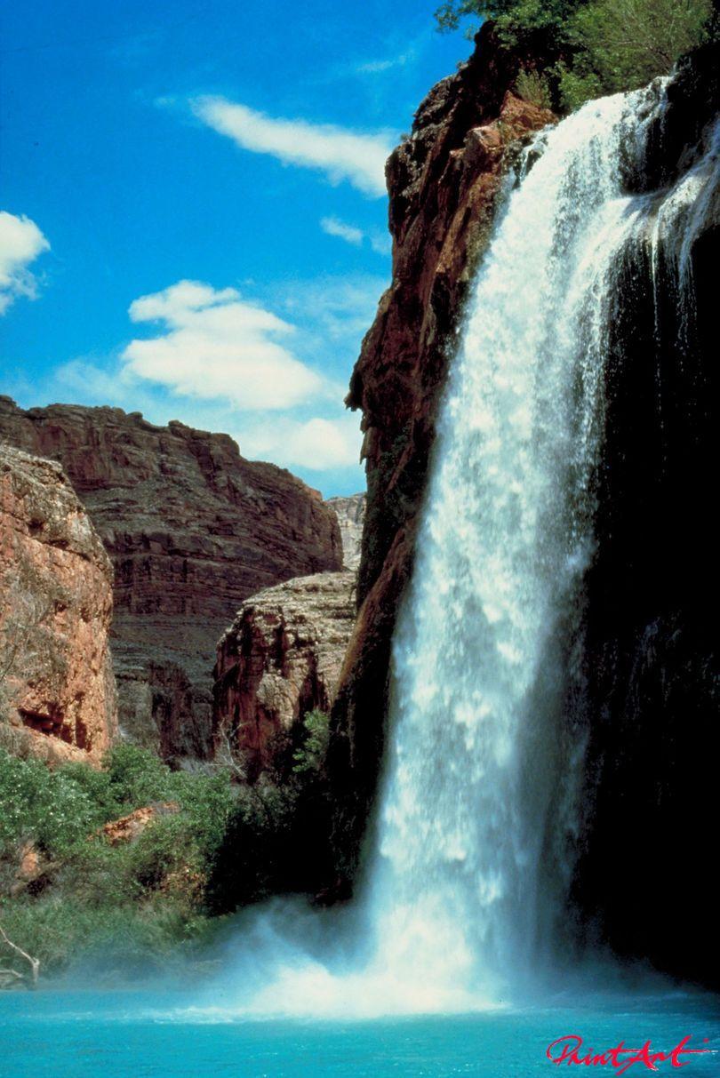 Wasserfall Berge