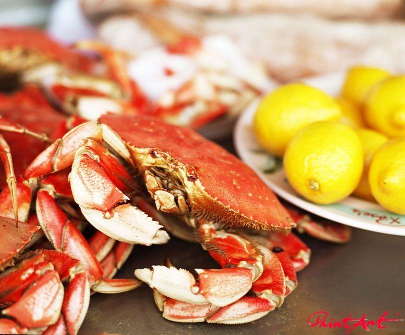 Krabbe Essen