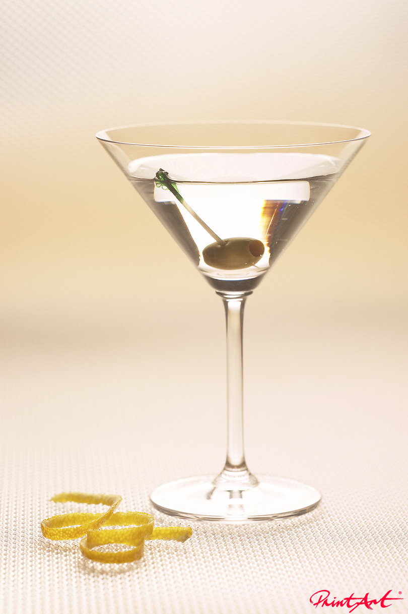 Martini dry II Trinken