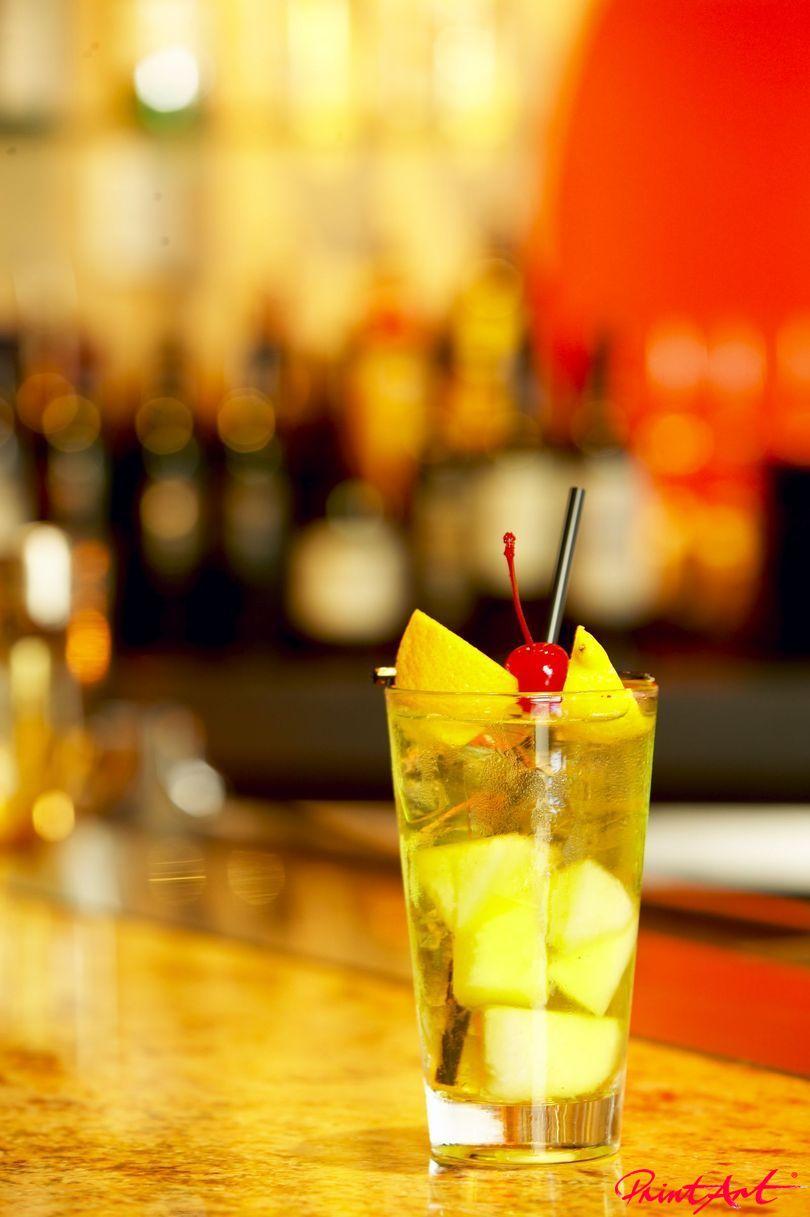 Frucht hell Trinken