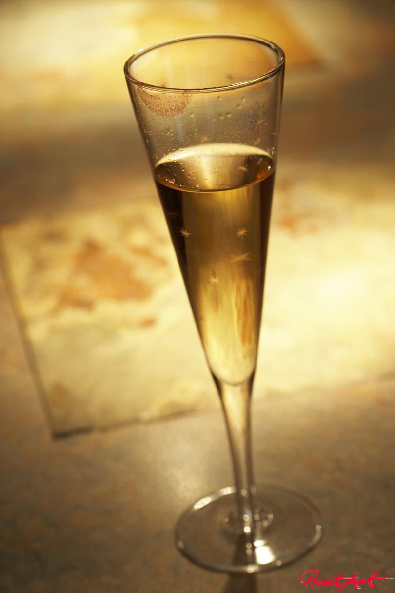 Champagnercocktail Trinken