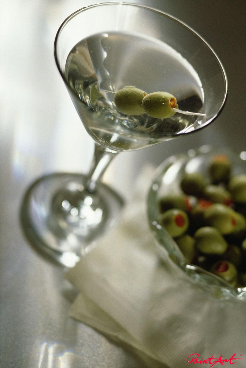 Martini dry Trinken