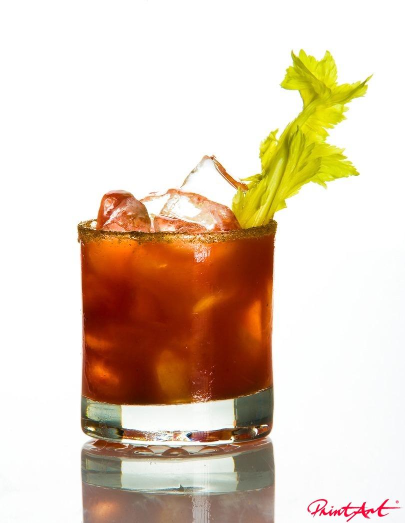 rot mit Zuckerrand Trinken