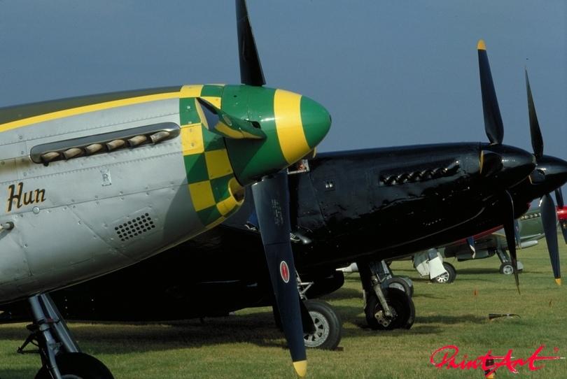 Oldtimer Kampfflieger Flugzeuge