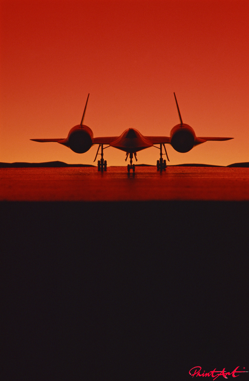 Sonnenuntergang Flugzeuge