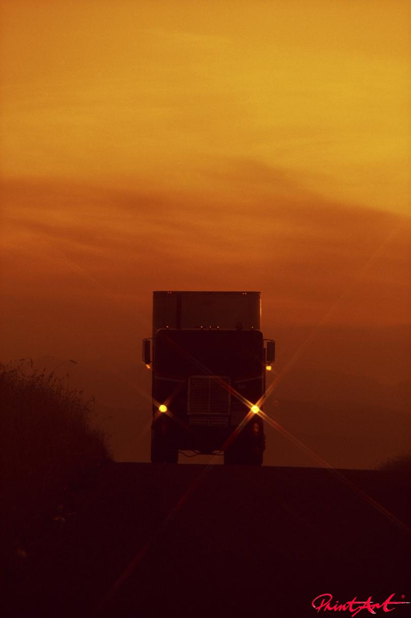 Truck Abendstimmung Trucks