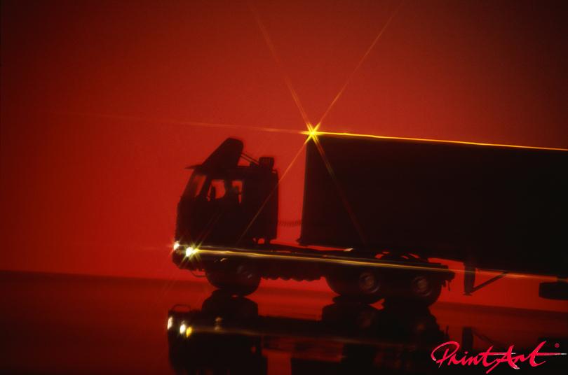 Truck Sonnenuntergang Trucks