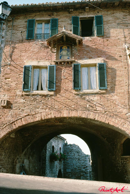 Hausfront Italien