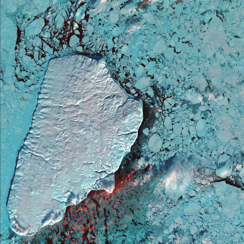 Akpatok Island, Canada World As Art (Satelitenbilder)