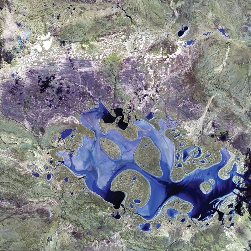 Lake Carnegie, Australien World As Art (Satelitenbilder)
