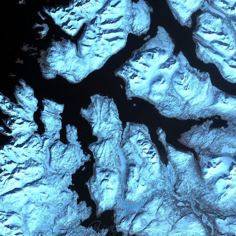 Norwegen World As Art (Satelitenbilder)