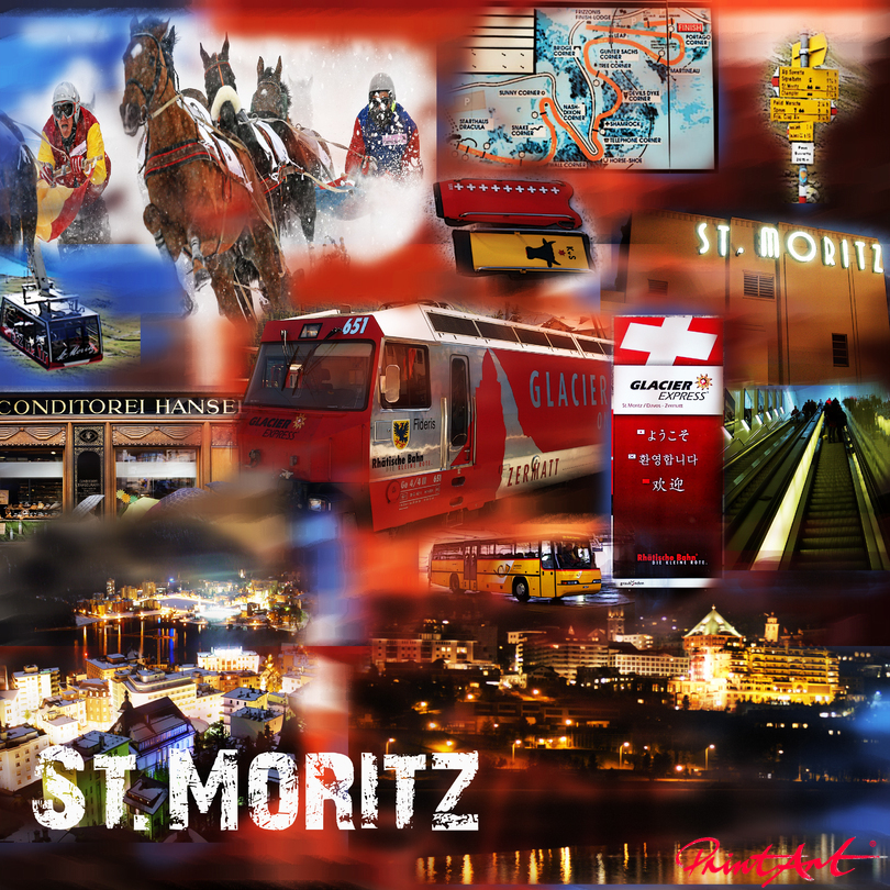 St. Moritz Switzerland Collagen