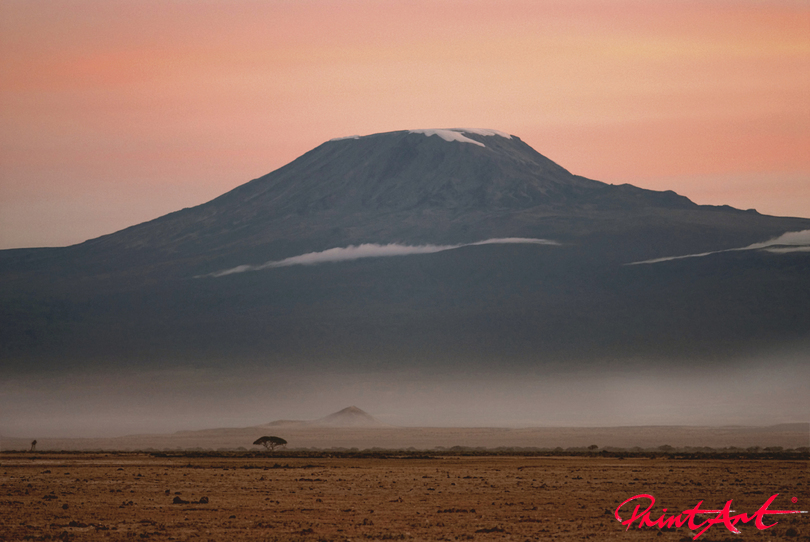 Kilimanjaro Tapeten - Vlies Tapeten