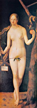 Eva Kunstdruck Dürer Albrecht