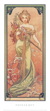 Printemps, 1900 Kunstdruck Moore Albert Joseph