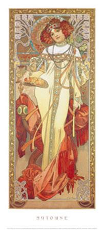 Automne, 1900 Kunstdruck Moore Albert Joseph