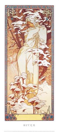 Hiver, 1900 Kunstdruck Moore Albert Joseph