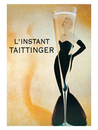 L'instant Taittinger Kunstdruck Liby