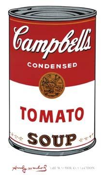Campbell's Soup I Kunstdruck Warhol Andy
