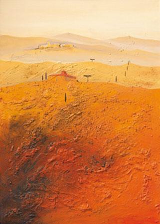 Mediterrane Landschaft 1 Gerner Bernhard