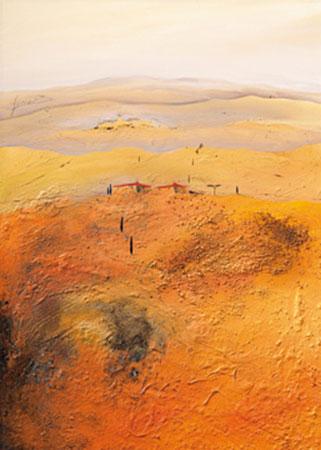 Mediterrane Landschaft 2 Gerner Bernhard