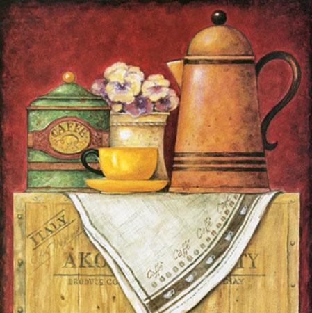 Caffe Kunstdruck Barjot Eric