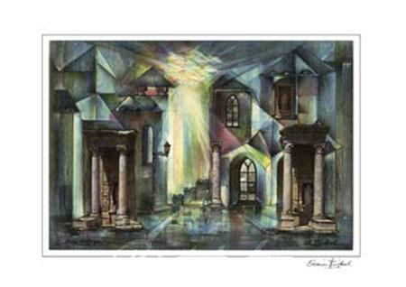 Sunrise Kunstdruck mit Folienprägung Birkel Armin